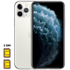 Apple iPhone 11 Pro [Dual SIM] 512GB Silver (серебристый)