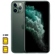 Apple iPhone 11 Pro [Dual SIM] 512GB Midnight Green (темно-зеленый)