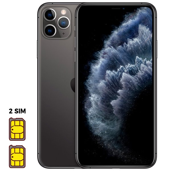 Apple iPhone 11 Pro Max [Dual SIM] 64GB Space Gray (серый космос)