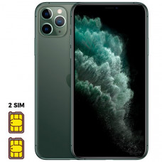 Apple iPhone 11 Pro Max [Dual SIM] 64GB Midnight Green (темно-зеленый)