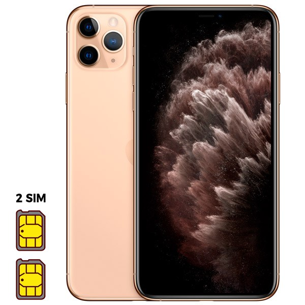 Apple iPhone 11 Pro Max [Dual SIM] 256GB Gold (золотой)