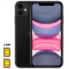 Apple iPhone 11 [Dual SIM] 64GB Black (черный)