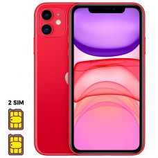 Apple iPhone 11 [Dual SIM] 64GB Product RED™ (красный)