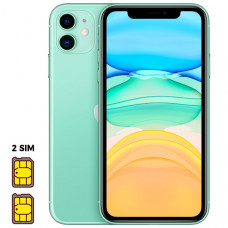 Apple iPhone 11 [Dual SIM] 64GB Green (зеленый)