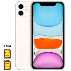 Apple iPhone 11 [Dual SIM] 128GB White (белый)