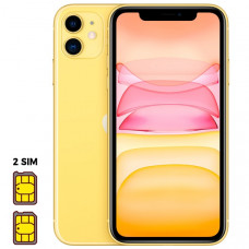Apple iPhone 11 [Dual SIM] 128GB Yellow (желтый)
