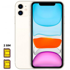 Apple iPhone 11 [Dual SIM] 256GB White (белый)