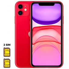 Apple iPhone 11 [Dual SIM] 256GB Product RED™ (красный)