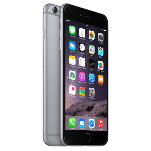 Apple iPhone 6 Plus 16GB Space Gray (серый космос)