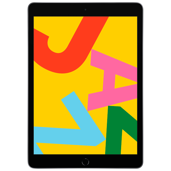Apple iPad 10.2″ 2019 128GB Wi-Fi + Cellular Space Grey (серый космос)
