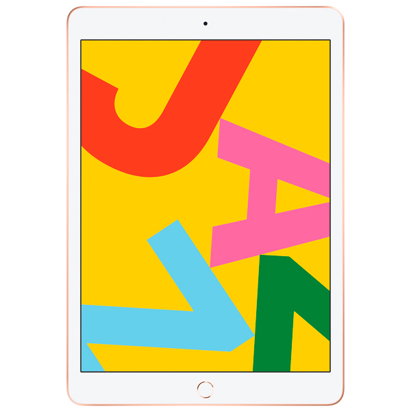 Apple iPad 10.2″ 2019 128GB Wi-Fi + Cellular Gold (золотой)