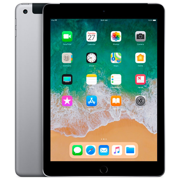 Apple iPad New 2018 128GB Wi-Fi + Cellular Space Grey (серый космос)