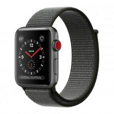Apple Watch Series 3 42mm Space Gray алюминиевый корпус спортивный темный браслет