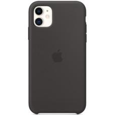 Силиконовый чехол Apple Silicone Case для iPhone 11 Black черный