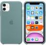 Силиконовый чехол Apple Silicone Case для iPhone 11 Cactus зеленый