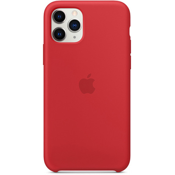Чехол Apple Silicone Case для iPhone 11 Pro (PRODUCT)RED силиконовый красный