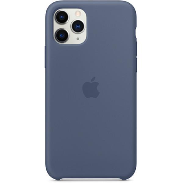 Чехол Apple Silicone Case для iPhone 11 Pro Alaskan Blue синий
