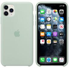 Силиконовый чехол Apple Silicone Case для iPhone 11 Pro Beryl голубой