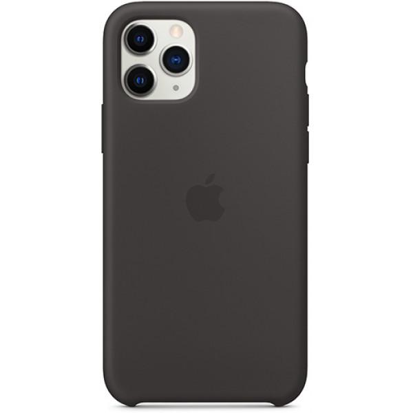 Силиконовый чехол Apple Silicone Case для iPhone 11 Pro Black черный