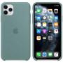 Силиконовый чехол Apple Silicone Case для iPhone 11 Pro Cactus зеленый