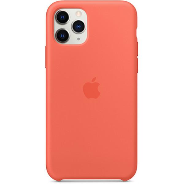 Чехол Apple Silicone Case для iPhone 11 Pro Clementine (Orange) оранжевый