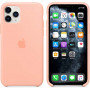 Чехол Apple Silicone Case для iPhone 11 Pro Grapefruit розовый