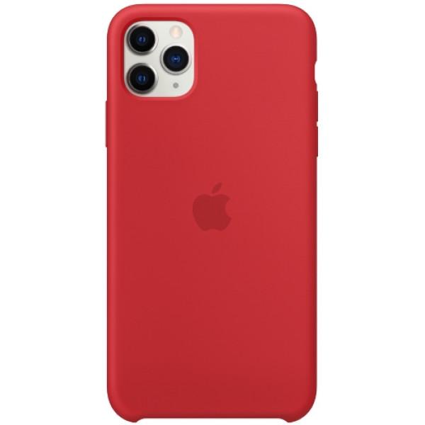 Чехол Apple Silicone Case для iPhone 11 Pro Max (PRODUCT)RED красный