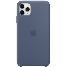 Чехол Apple Silicone Case для iPhone 11 Pro Max Alaskan Blue синий