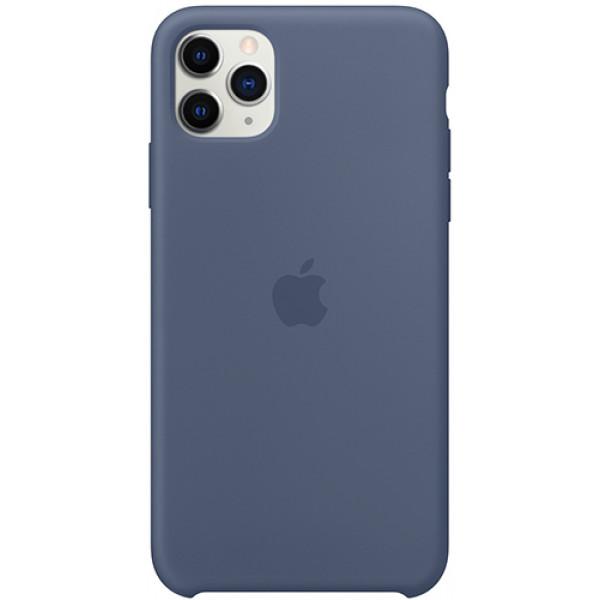 Чехол Apple Silicone Case для iPhone 11 Pro Max Alaskan Blue синий