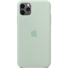 Чехол Apple Silicone Case для iPhone 11 Pro Max Beryl силиконовый голубой