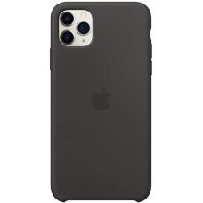 Чехол Apple Silicone Case для iPhone 11 Pro Max Black силиконовый черный