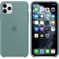Чехол Apple Silicone Case для iPhone 11 Pro Max Cactus зеленый