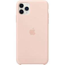 Силиконовый чехол Apple Silicone Case для iPhone 11 Pro Max Pink Sand розовый