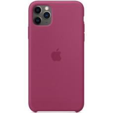 Чехол Apple Silicone Case для iPhone 11 Pro Max Pomegranate силиконовый розовый