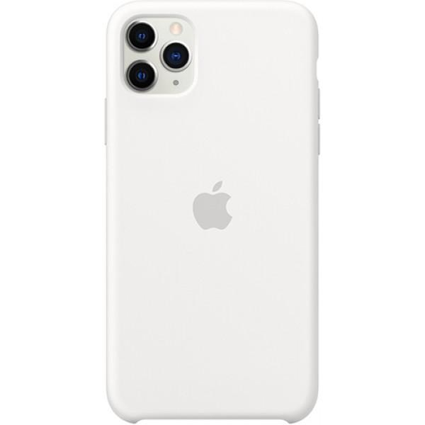 Чехол Apple Silicone Case для iPhone 11 Pro Max White силиконовый белый