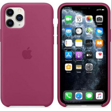 Чехол Apple Silicone Case для iPhone 11 Pro Pomegranate розовый