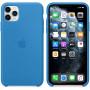 Силиконовый чехол Apple Silicone Case для iPhone 11 Pro Surf Blue синий