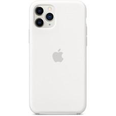 Силиконовый чехол Apple Silicone Case для iPhone 11 Pro White белый
