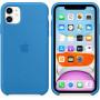 Силиконовый чехол Apple Silicone Case для iPhone 11 Surf Blue синий