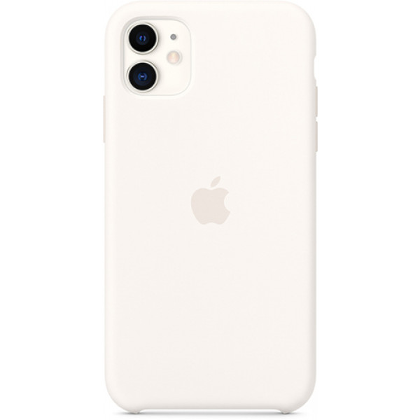 Чехол Apple Silicone Case для iPhone 11 White белый