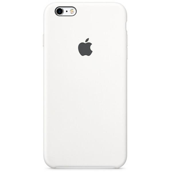 Чехол Apple Silicone Case для iPhone 6 Plus/6S Plus White силиконовый белый