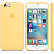 Чехол Apple Silicone Case для iPhone 6/6s Yellow силиконовый желтый