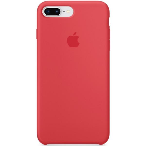 Чехол Apple Silicone Case для iPhone 8 Plus/7 Plus Red Raspberry силиконовый красный