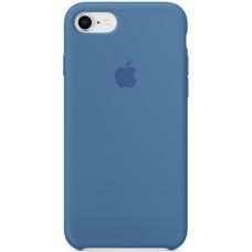 Чехол Apple Silicone Case для iPhone 8/7 Denim Blue синий
