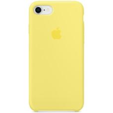 Чехол Apple Silicone Case для iPhone 8/7 Lemonade желтый