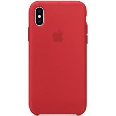 Чехол Apple Silicone Case для iPhone XS (PRODUCT)RED красный
