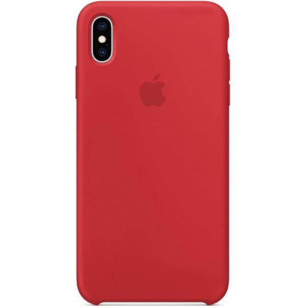 Чехол Apple Silicone Case для iPhone XS Max (PRODUCT)RED красный