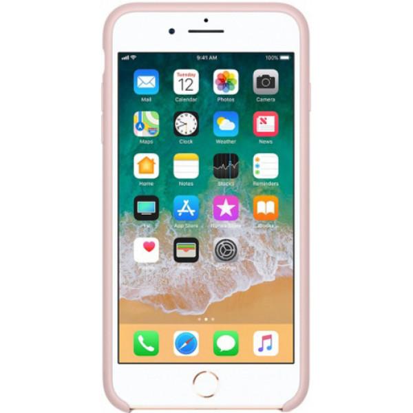 Чехол Apple для iPhone 8 Plus/7 Plus Silicone Case Pink Sand розовый