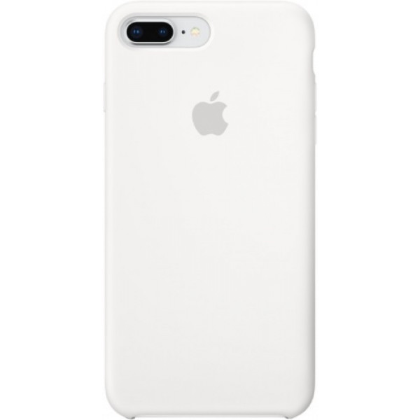 Чехол Apple для iPhone 8 Plus/7 Plus Silicone Case White белый
