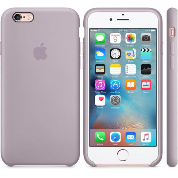 Чехол Apple Silicone Case для iPhone 6/6s Lavender сиреневый